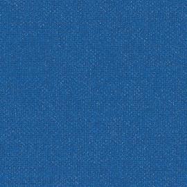 Toile enduite Buckram 508 bleu océan L106
