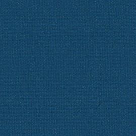 Toile enduite Buckram 509 bleu cétacé L106