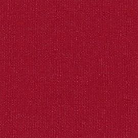 Toile enduite Buckram 519 rouge crimson L106