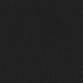 Toile enduite Buckram 526 noir réglisse L106