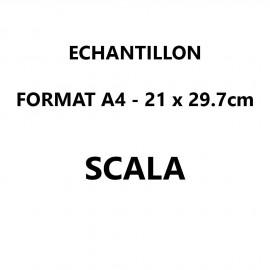 Echantillon Scala format A4 (21*29,7 cm)
