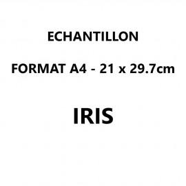 Echantillon Iris format A4 (21*29,7 cm)