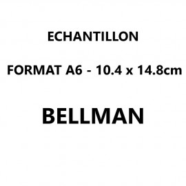 Echantillon Bellman format A6 (10,5*14,8 cm)