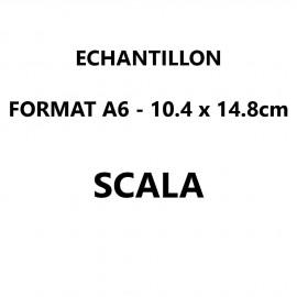 Echantillon Scala format A6 (10,5*14,8 cm)