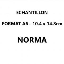 Echantillon Norma format A6 (10,5*14,8 cm)