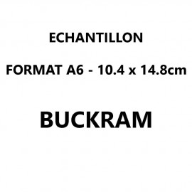 Echantillon Buckram format A6 (10,5*14,8 cm)