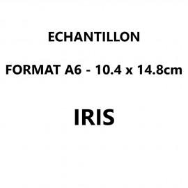 Echantillon Iris format A6 (10,5*14,8 cm)