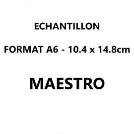 Echantillon Maestro format A6 (10,5*14,8 cm)