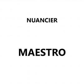 Nuancier Maestro