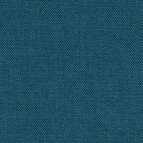 Toile de reliure Iris 857 bleu pétrole L100