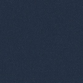 Toile enduite Buckram 505 bleu nuit L106